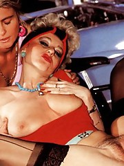 Two sexy seventies ladies doing it with dick