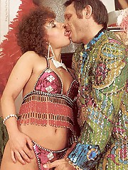 Raunchy seventies lady loves the circus boss