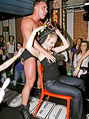 Clothed chicks screwing a fireman hardcore
