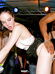 Willing babes fucked by strippers hardcore