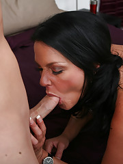 We know that MILF's love discounts so we sent the MILF Seekers to a discount store where they found Dakota who couldn't pass up our exclusive offer; Two cute studs for the low, low price of one raw MILF pussy.