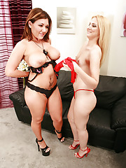 The one and only Claire Dames is here to help squirting sensation Ariel Summer.