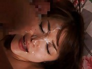 Mihiro Asian babe is kissed with passion and fucked so strongly