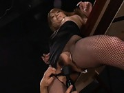 Sena Aragaki Asian is teased with sex toys on asshole and pussy