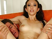 Young Brunette Gets Her Ass Fucked