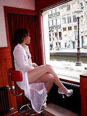 Amsterdam hookers sucking and fucking clients