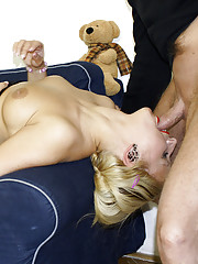 Crazy younger lady enjoys fucking an old chap