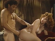Handsome retro beauty penetrated by a dude