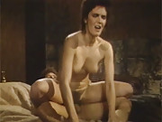 Retro hairy sexy babe penetrated by big cock