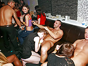 Fucking horny chicks at the local sex club