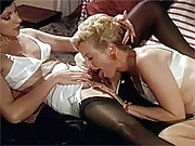 Aunt Peg licking and finger her friend pussy