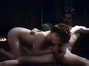 Lisa de Leeuw gets fucked hard on the floor