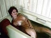 Slow and sensuous sucking and fucking in tub