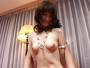 Misuzu Imai Asian has sweet bazoom bas kissed and touched by guy