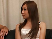 Ayumu Sena Asian in short skirt and white top is one erotic babe