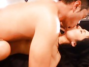 Sora Aoi Asian with big hunger for fuck rides fellow stiffy well