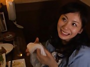 Sora Aoi Asian gets river of cum on face after doggy style fuck