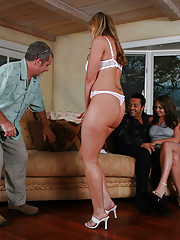 Kylee reluctantly joins her hubby at the Wife Switch house.