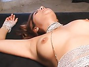 Maria Ozawa Asian with round tits is fucked in cunt with finger