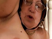 Chunky granny gets fucked from behind