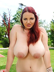 Big Tits Outdoor