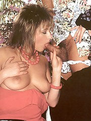 Hot retro threesome having fun fucking eachother hardcore