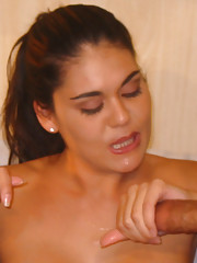 We Saw this hot latina MILF and we knew we had to get in to her tight MILF pussy.