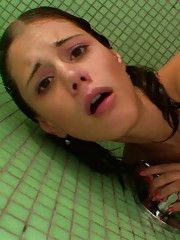 Shower fucking scene with amazing Little Caprice