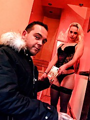 An amsterdam hooker screwing a paying client