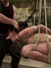 Hot bodied and very tough squirter Lyla Storm gets Dominated in hard compression bondage and challenged to suck cock at the hands of Mark Davis.