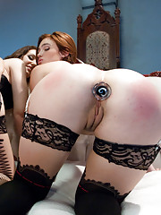 Three hot girls in kinky all anal action!