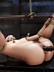Kristina is brought into the world of true Master and slave relationships with bondage, torture and intense orgasms.