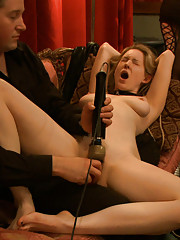 Rosie spends the night on the floor in her own cum and filth, serving Goddess Soma and pleasing cock.