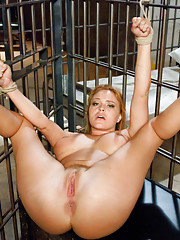 Business Woman Arrested, Tied Up, Dominated and Ass Fucked in Jail!