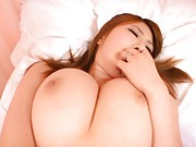 Momoka Nishina Asian with huge hooters has peach in big drilling