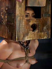 Kristina Rose is caned, made to endure brutal foot torture, pushed to the point of breaking with orgasm denial.