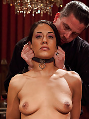 Lyla Storm is initiated as the new House slave, but not before she is fucked into oblivion by Mark Davis, Stefanos, and the House slaves.