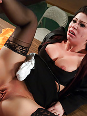 Featured Movie with scripted storyline and Hard-core BDSM anal sex!