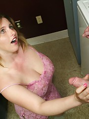 Teen Raina makes it rain by  gets a huge cum blast