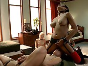 Kristina shows up with an attitude, and is brutally acclimated to what a 24/7 BDSM environment means on The Upper Floor.