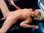 Screaming, squirting, bursting, cum slinging orgasms from a tall hot babe who doesn