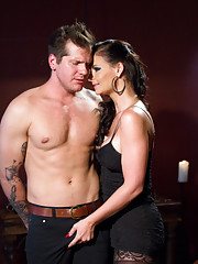 Phoenix Marie destroys hard bodied slaveboy with her perfect body and gorgeous round ass!