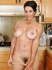 Busty Moms Hairy Pussy