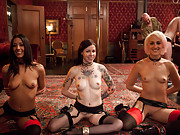 All of our kinky uniform fetishists are out for an amazing sexually charged evening.