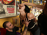 Alt slut gets permanently marked by Princess Donna is a tattoo shop. She will now and forever be, Princess Donna