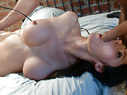Eva Karera gets tied up and grudge fucked in her ass!