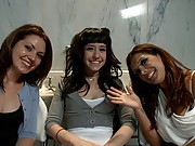 Reform girls punished with extreme anal kinky sex!