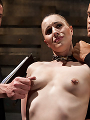 Katharine is trained to serve a male dominant and gets her ass brutally fucked.