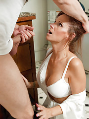 Massage turns to hot sex with mom and son  xHamstercom
