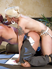 Mistress Lorelei Lee destroys cocky business man with whipping, humiliation, pegging and sexual torture.